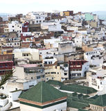 Constructions from high in the       village    morocco africa f Stock Image