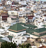 Constructions from high in the       village    morocco africa   Stock Photos