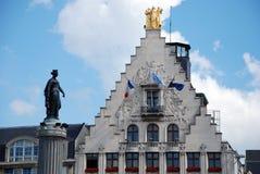Constructions historiques à Lille Image libre de droits