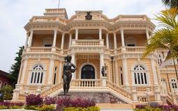 Constructions historiques à Manaus Photo stock