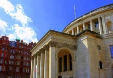 Constructions historiques à Manchester image libre de droits