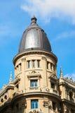 Constructions historiques avec des avants de lacet de Madrid photos libres de droits