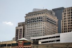 constructions Houston Photographie stock