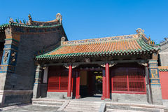 Constructions impériales de palais de Shenyang Image stock