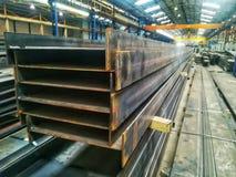 Constructions métalliques lourdes et grandes dans un métal ouvré photo libre de droits