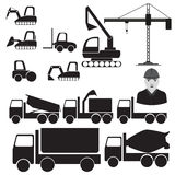Constructions machinery Stock Photos