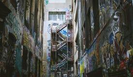 Constructions à Melbourne Photographie stock libre de droits