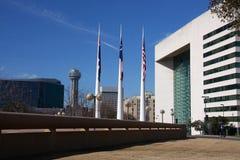Constructions modernes à Dallas photographie stock