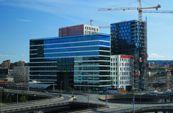 Constructions modernes Photo stock