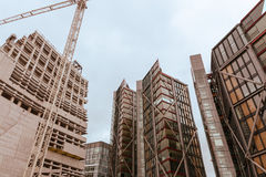 Constructions modernes photographie stock libre de droits