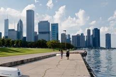 Constructions modernes Chicago de tour Image libre de droits