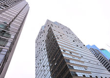 constructions modernes d'affaires Images libres de droits