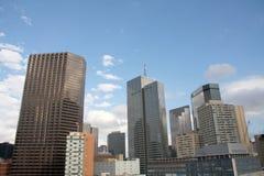 Constructions modernes de Dallas du centre photo libre de droits