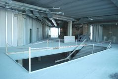 Constructions modernes de l'arène Image stock