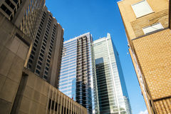 Constructions modernes de Toronto Photo stock