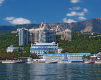 Constructions neuves de Yalta, Crim?e, Ukraine image stock