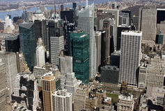 constructions New York Photos libres de droits