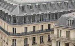 Constructions parisiennes Photos libres de droits