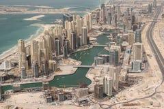 Constructions résidentielles de bord de mer Images stock