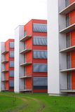 Constructions rouges Photos stock
