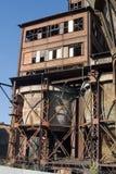 Constructions rouillées Vitkovice de fer Photo libre de droits