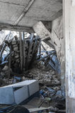 Constructions ruinées Images libres de droits