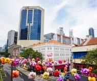 Constructions à Singapour Photo libre de droits