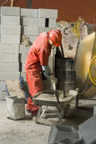 constructions site worker στοκ εικόνα