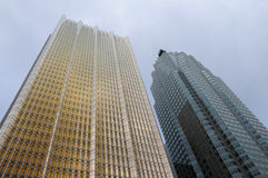 Constructions Toronto de grattoir de ciel Photo stock