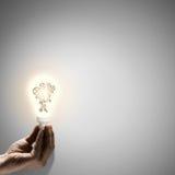 Constructive thinking Stock Image