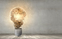 Constructive thinking Royalty Free Stock Images