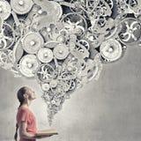 Constructive thinking Stock Photo