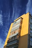 Constructivism style buildings Stock Image