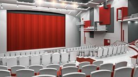 Constructivist theater Stock Image