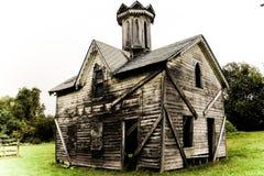 3 constructivos abandonados viejos Imagen de archivo