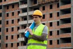 constructon εργαζόμενος Στοκ φωτογραφίες με δικαίωμα ελεύθερης χρήσης