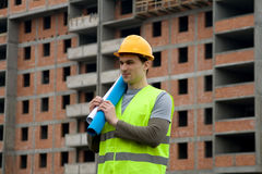 Constructon worker Royalty Free Stock Photos