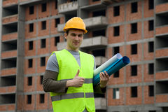 Constructon worker Stock Image