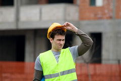 Constructon worker Stock Photo