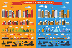 Constructor city Stock Photo