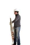 Constructor con la escala Fotografía de archivo