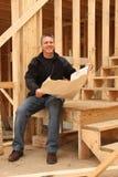 Constructor de casa Imágenes de archivo libres de regalías