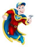 Constructor del super héroe Imagenes de archivo