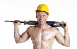 Constructor drill. Stock Photo