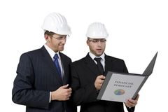Constructor with excellent reports Stock Photos