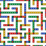 Constructor labyrinth 1 Stock Photography