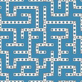 Constructor labyrinth 1s Royalty Free Stock Photos