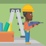 Constructor with perforator. Royalty Free Stock Photo