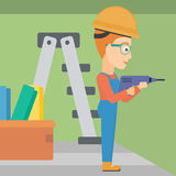 Constructor with perforator. Stock Photography