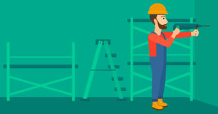Constructor with perforator. Royalty Free Illustration